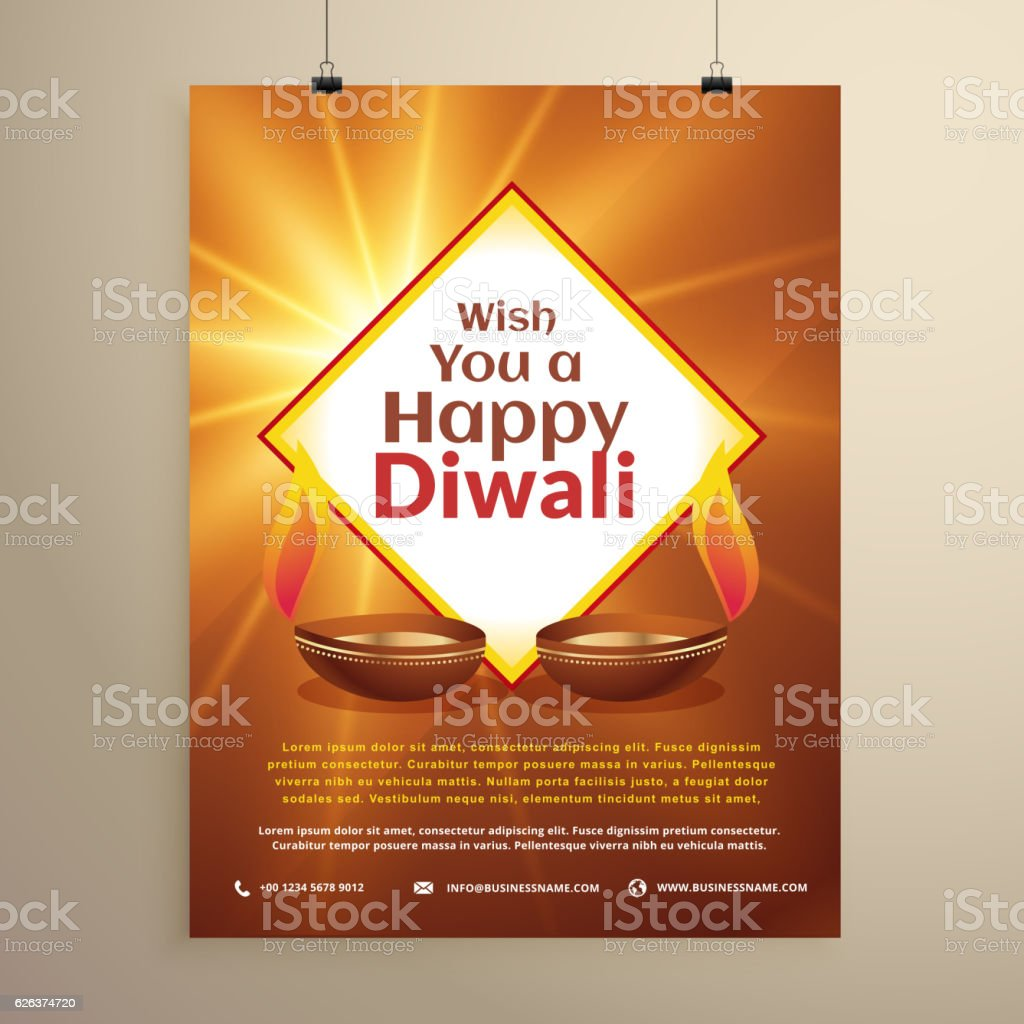 Indian festival of happy diwali greeting card flyer template stock indian festival of happy diwali greeting card flyer template royalty free indian festival of happy kristyandbryce Image collections