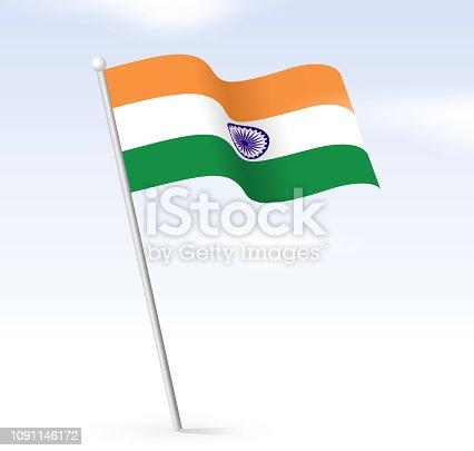 indian flag sky design