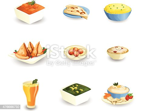Indian food stock vector art more images of 2015 for Art of indian cuisine