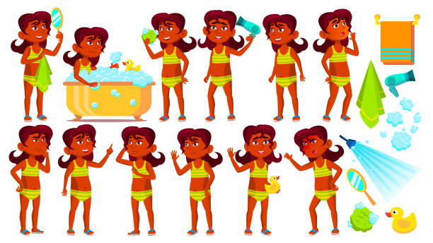 Cute Young Naked Girls Illustrations, Royalty-Free Vector Graphics  Clip Art - Istock-3656