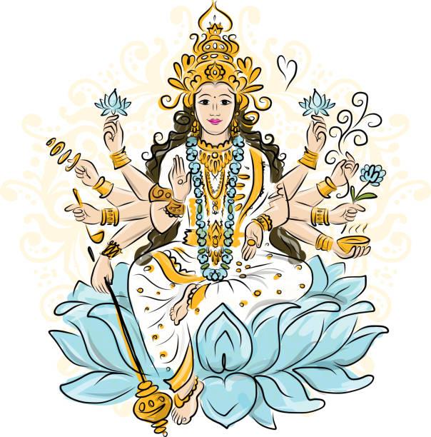 Top 60 Maa Durga Clip Art, Vector Graphics And