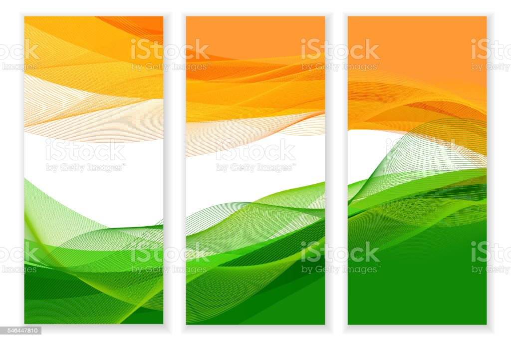 Indian Independence Day concept background vector art illustration