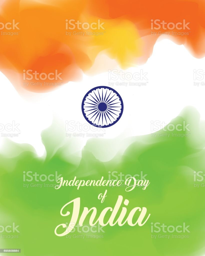 Indian Independence Day concept vector art illustration