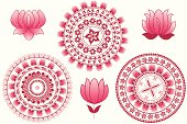 Self illustrated Indian Mandala Design.Please see some similar pictures from my portfolio: