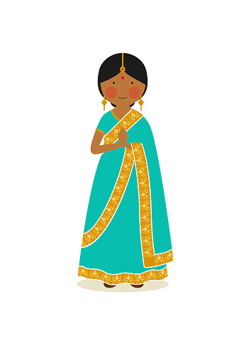 Indian national costume for women
