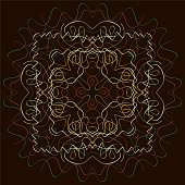 Indian Pattern - Detailed and easily editable