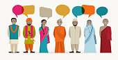 Indian people talk - different indian religious