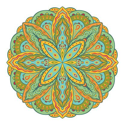 Indian style mandala.