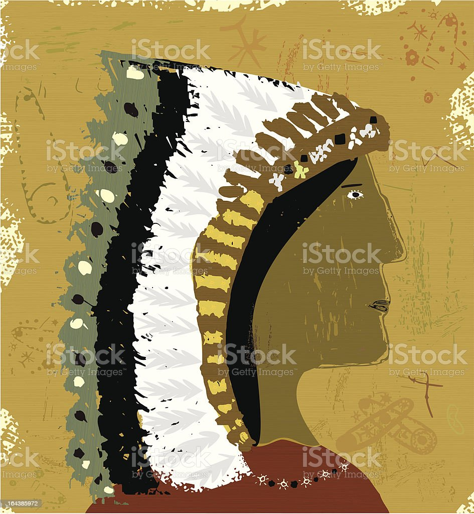 Indian royalty-free stock vector art