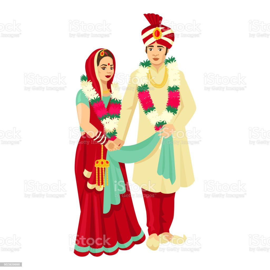 Wedding clip art asian