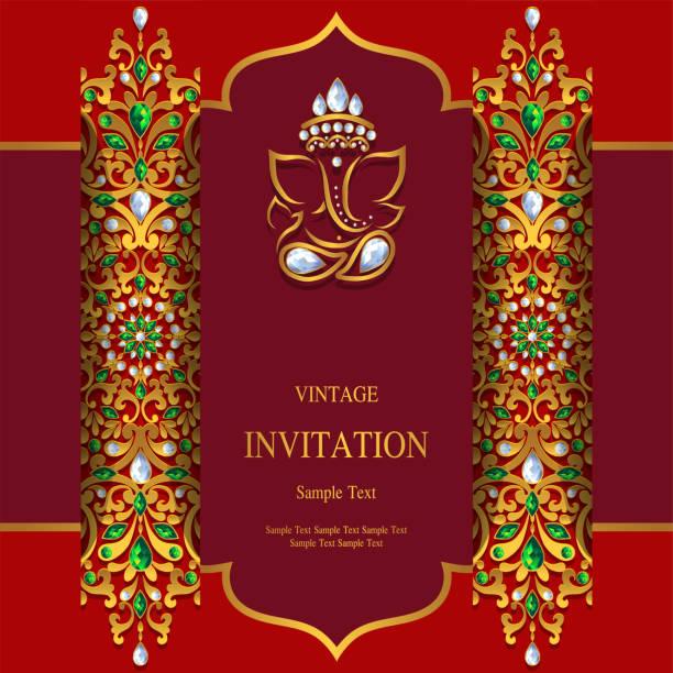 indian wedding elephant illustrations royaltyfree vector