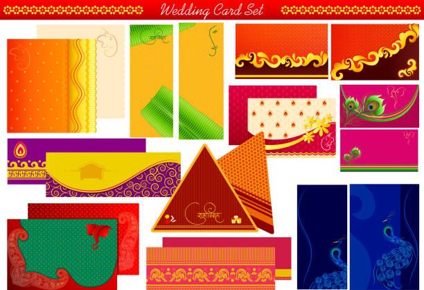 190 Hindu Wedding Invitation Illustrations Clip Art Istock
