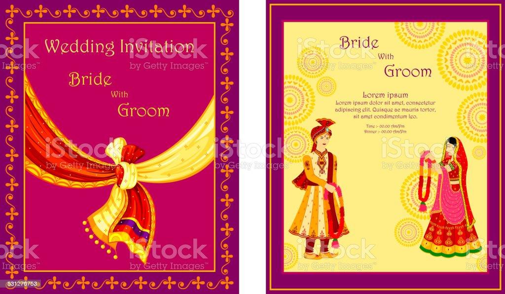 Indian Wedding Invitation Card Stock Illustration Download Image Now Istock
