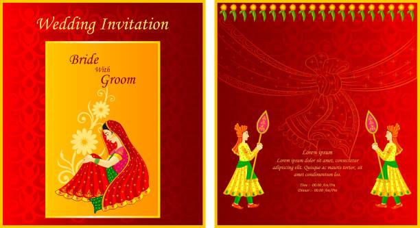 Best Hindu Wedding Illustrations Royalty Free Vector