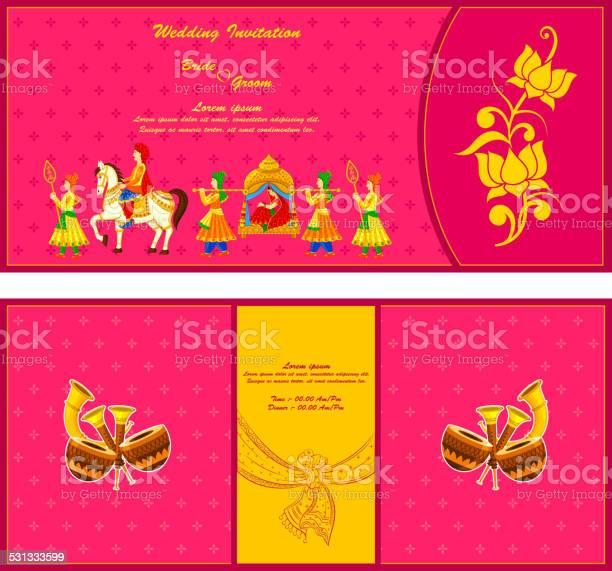 Indian Wedding Card Free Vector Art 426 Free Downloads