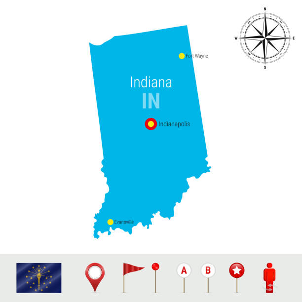Indiana Capitol Illustrations, Royalty-Free Vector Graphics & Clip on indiana senate map, indiana substation map, indiana's first map, indiana house map, indiana capitol map, crown hill cemetery map, boston statehouse map, indiana columbus map, indianapolis zoo map, indiana lighthouse map, indiana state map,