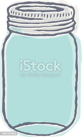 Line Drawing Jar : Indie mason jar stock vector art more images of airtight