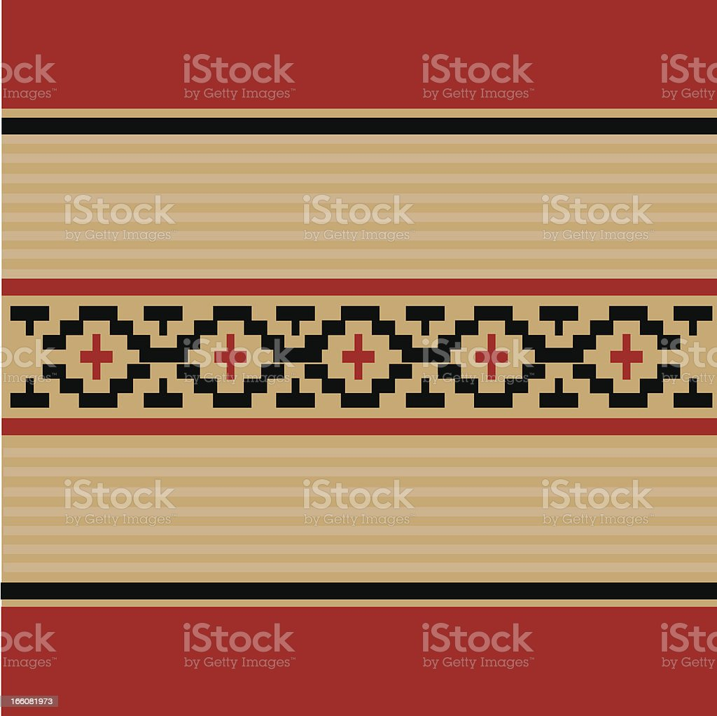 indigenous pattern royalty-free stock vector art