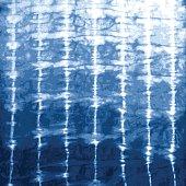 Indigo Blue Tie Dye Design