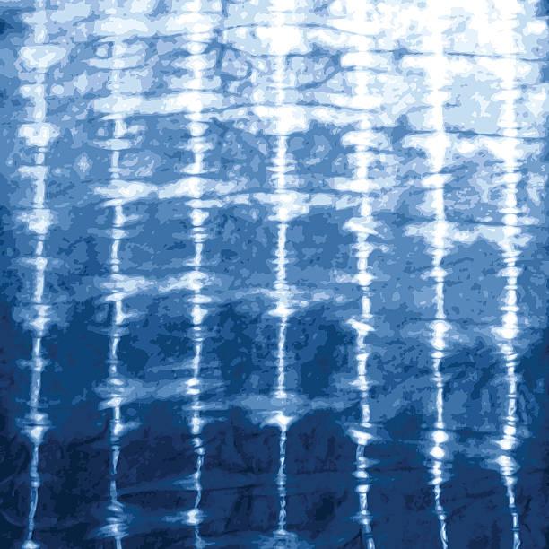 indigo blue tie dye design - 海軍藍 幅插畫檔、美工圖案、卡通及圖標