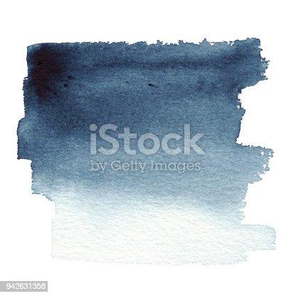 Indigo paint spot