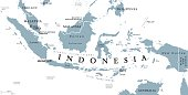 Indonesia political map