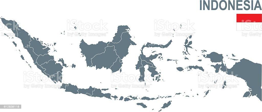 Indonesia vector art illustration
