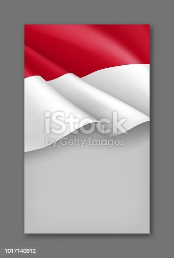 indonesian patriotic background template stock vector art more