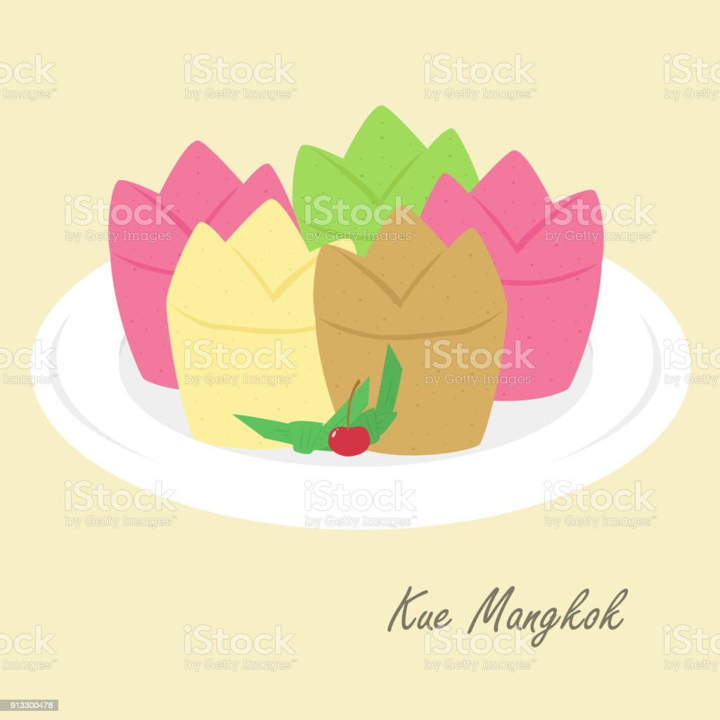 Indonesian Traditional Food Vector