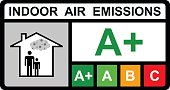 Indoor air emissions vector design
