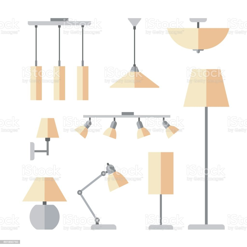 indoor lighting stock illustration download image now istock https www istockphoto com vector indoor lighting gm651850750 118348251