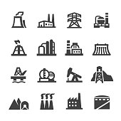 Industrial Building Icons - Acme Series