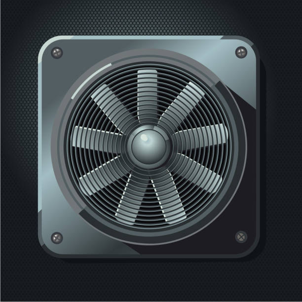 Best Exhaust Fan Illustrations Royalty Free Vector