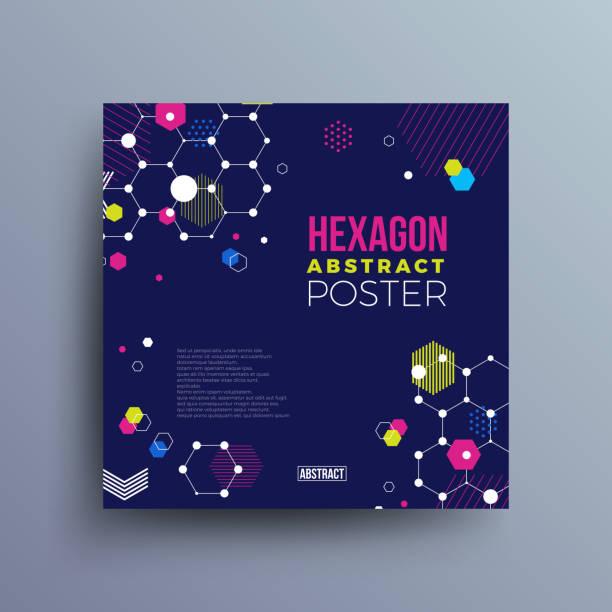 illustrations, cliparts, dessins animés et icônes de industrial future technical abstract vector poster - arrière plans science