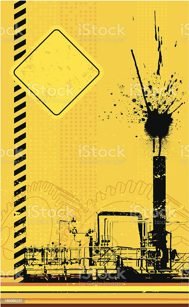 Industrial grunge royalty-free stock vector art