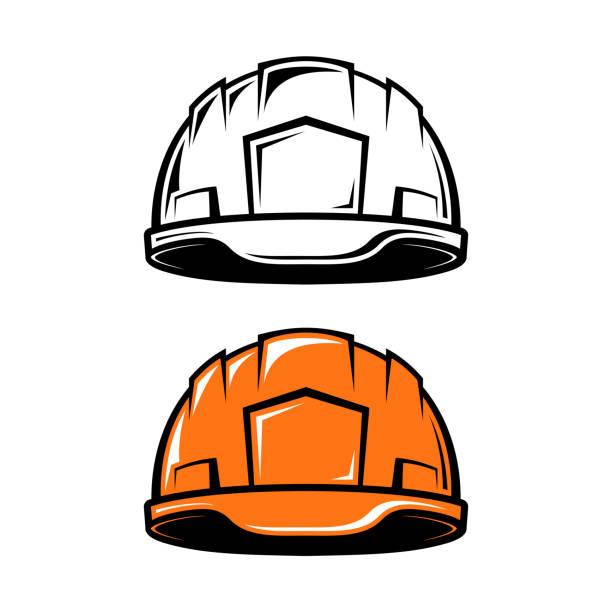 Bекторная иллюстрация industrial helmet