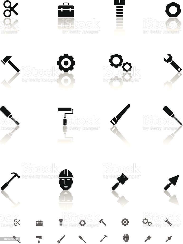 Industrial & household tools royalty-free industrial household tools stock vector art & more images of construction industry