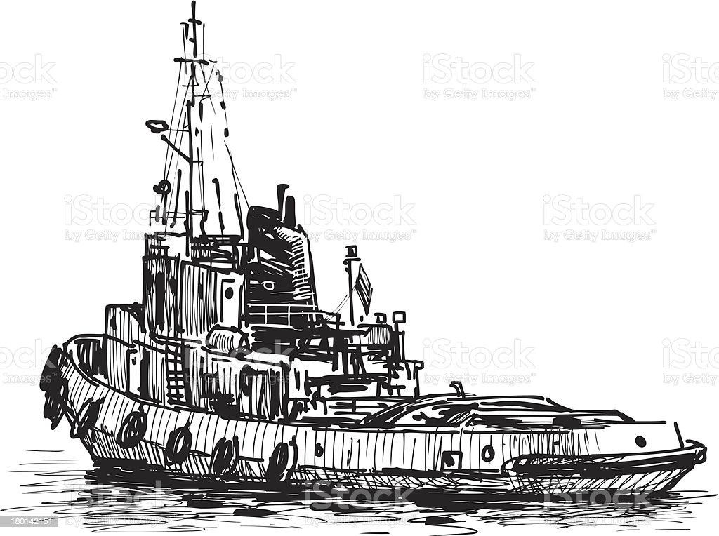 industrial ship royalty-free industrial ship stock vector art & more images of cut out