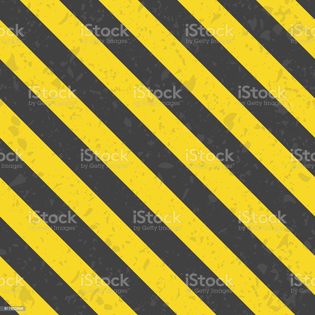 Industrial striped seamless pattern. vector art illustration