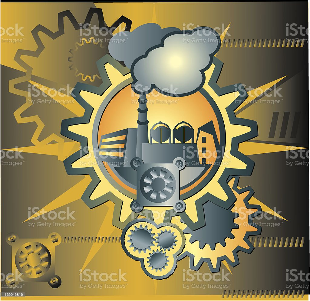 Industrial works royalty-free industrial works stock vector art & more images of art and craft