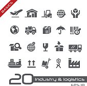 Industry and Logistics Icons - Basics