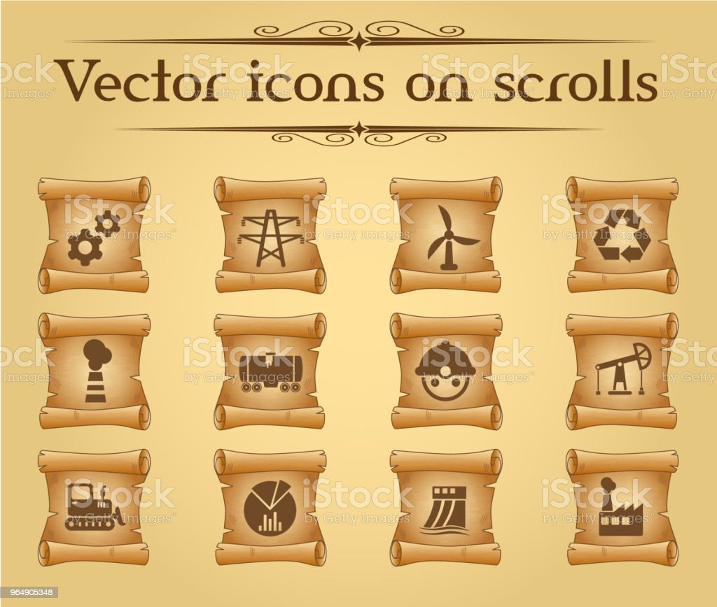 industry icon set royalty-free industry icon set stock vector art & more images of antique