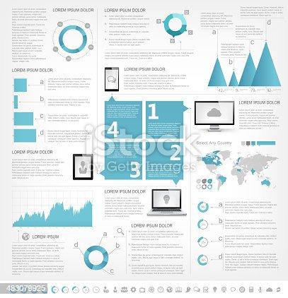 istock IT Industry Infographic Elements 483079925