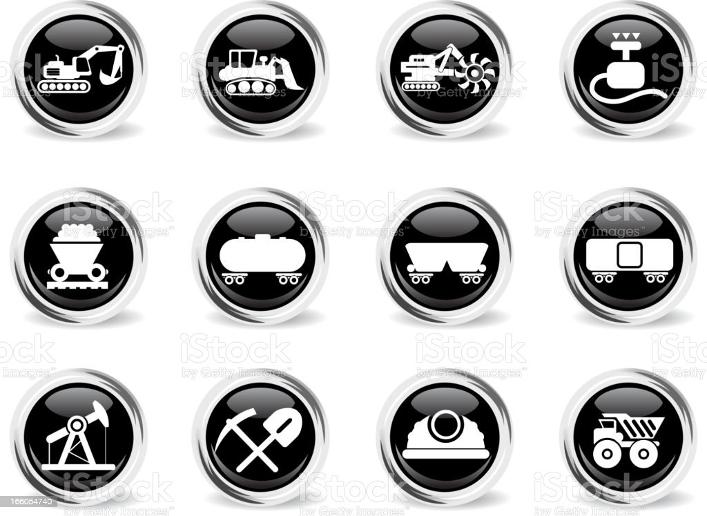 Industry Symbols royalty-free industry symbols stock vector art & more images of black and white