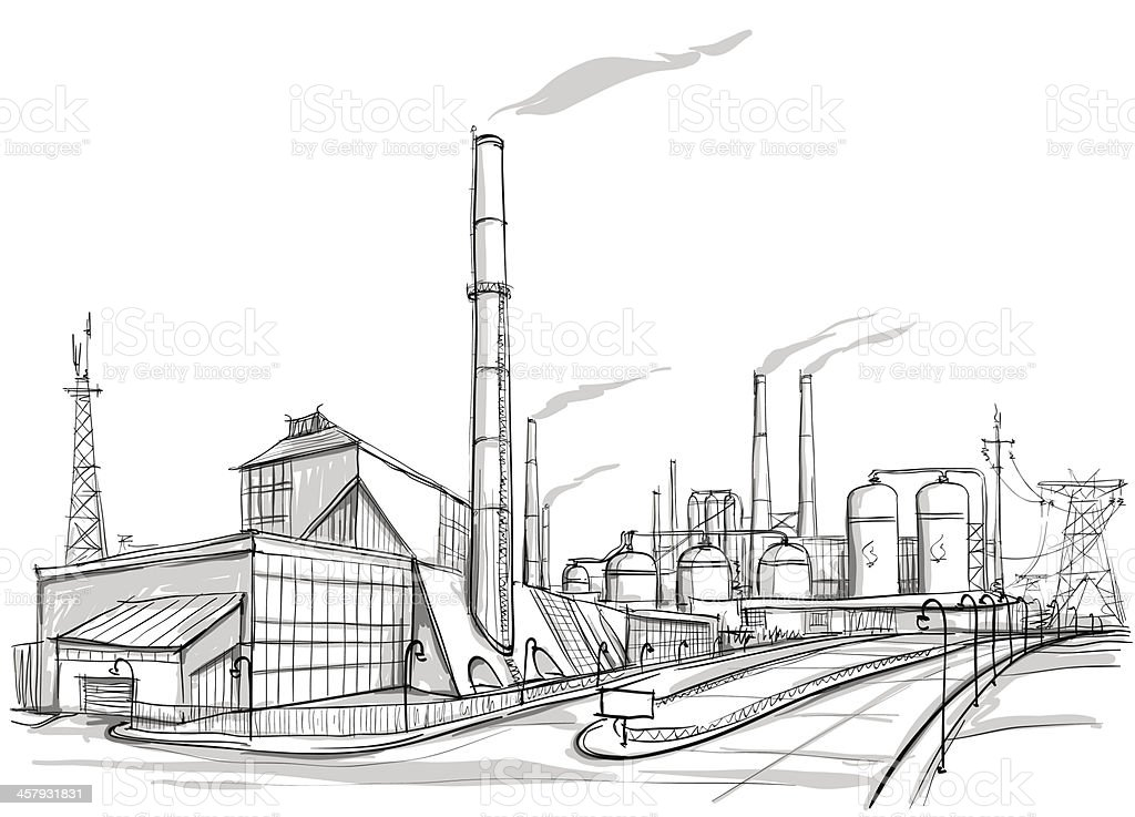 Industry royalty-free industry stock vector art & more images of automated
