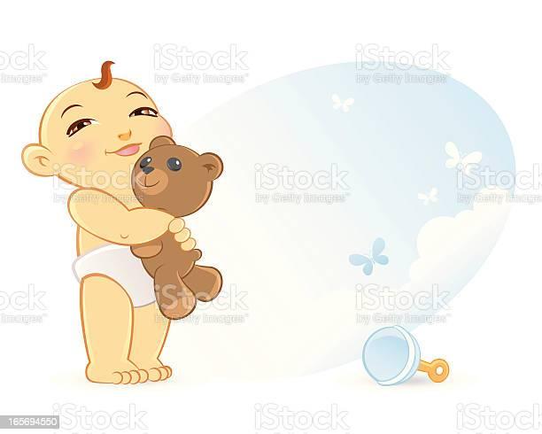 Infant baby with teddy bear vector id165694550?b=1&k=6&m=165694550&s=612x612&h=u8tbqz0y08uqdnt7xk0nlvnjef0c9acdq0ukemd42vm=