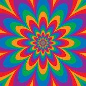 Infinite Flower Spectrum