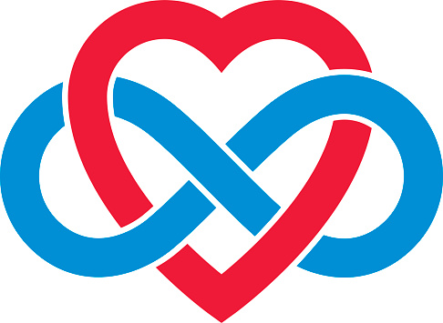 Download Infinite Love Concept Vector Symbol Created With Infinity ...