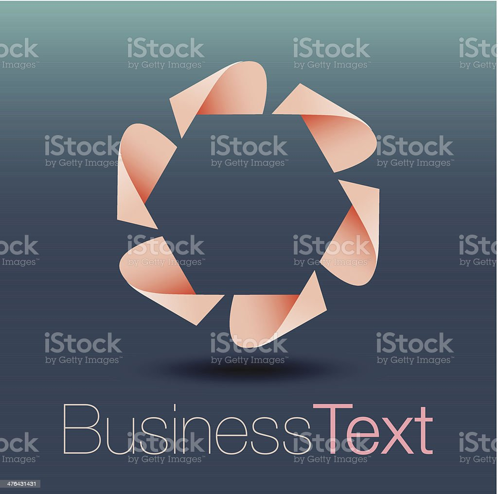 Infinite Ribbon Icon Collection royalty-free stock vector art