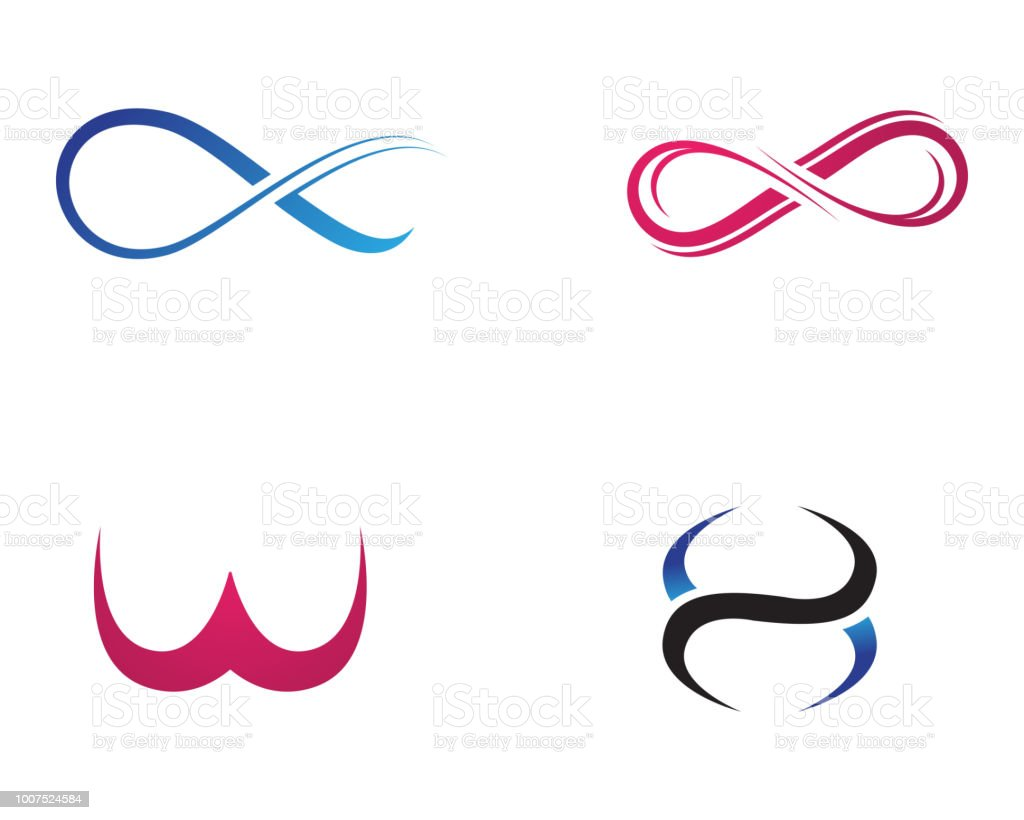 Infinity Logo And Symbol Template Icons Vector Stock Vector Art